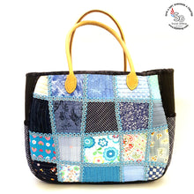 Load image into Gallery viewer, Pre-order Hand Sewn Patchwork Bag (1 month)