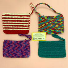 Load image into Gallery viewer, Hand Crocheted Wristlet