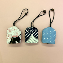 Load image into Gallery viewer, Handsewn Fabric Key Pouch