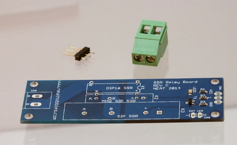 Blank Solid State Relay Board