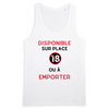 Débardeur - Disponible sur place  - |TPO-DEB-STAN-H-RUN-BLA-S| €27 |Divers |vodax