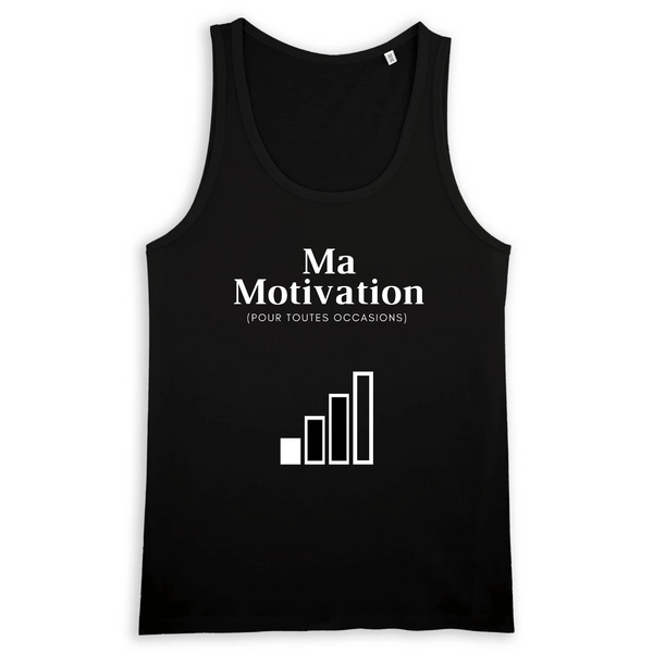 Débardeur - Motivation - |TPO-DEB-STAN-H-RUN-NOI-S| €27 |Divers |vodax