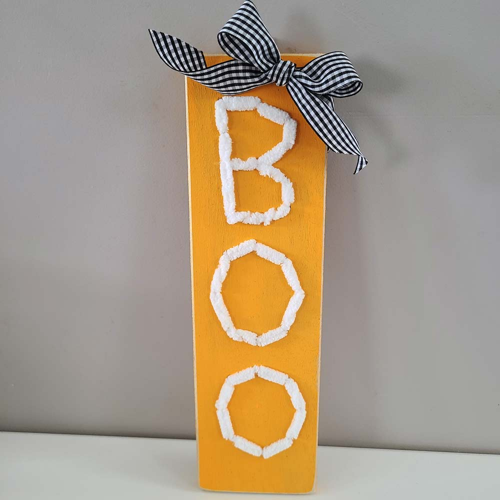 BOO Stitch Sign