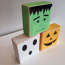 Load image into Gallery viewer, Halloween Trio Block Set