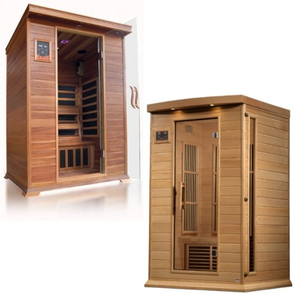 2 Person Infrared Saunas For Sale