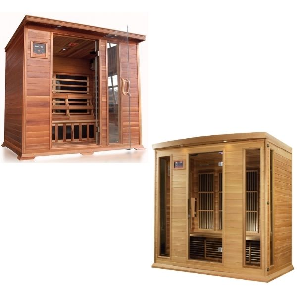 4 Person Infrared Saunas For Sale