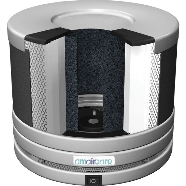 Amaircare Roomaid Portable HEPA Air Purifier 3D view of inside