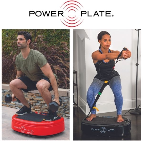 Power Plate Personal and Power Plate Move — Whole Body Vibration Machines