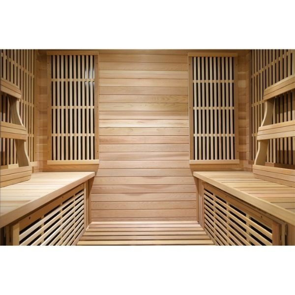 SunRay Roslyn HL400KS Four Person Infrared Sauna Seating