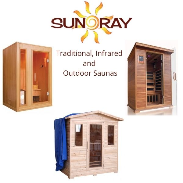 SunRay Saunas Traditional, Infrared and Outdoor Saunas