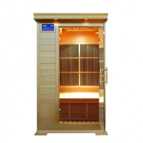 SunRay HL100K2 Barrett One Person Infrared Sauna Main View