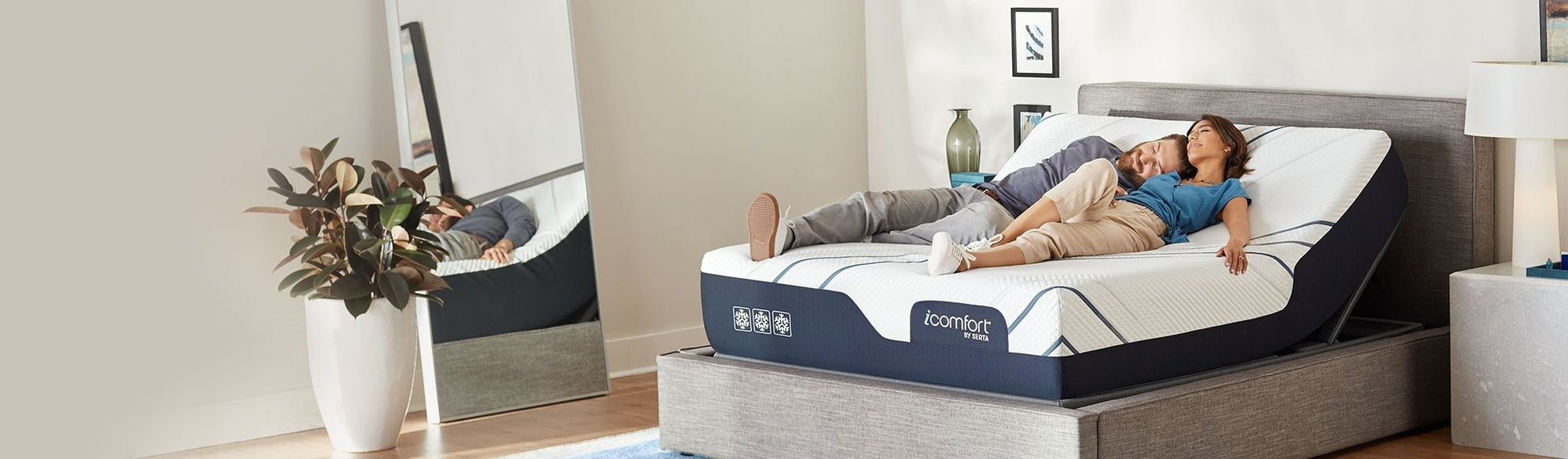 Our Serta® Adjustable Beds