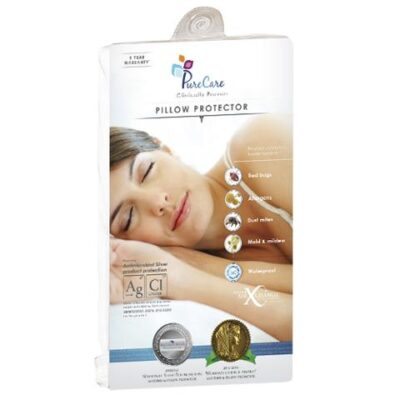 Pure Care Silver Pillow Protector