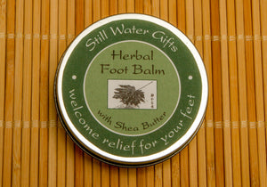 Herbal Foot Balm with Shea Butter