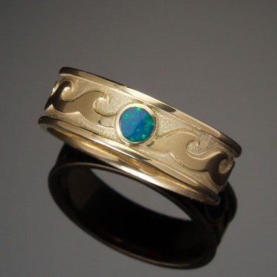 Poseidon Tribute Ring