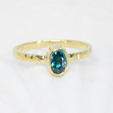 Blue Zircon High Seas Ring