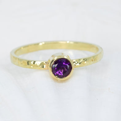Amethyst High Seas Ring