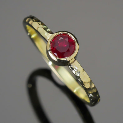 Ruby High Seas Ring