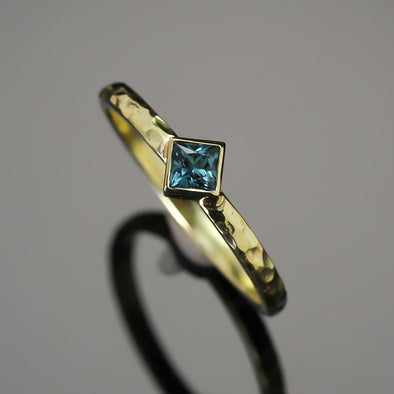 Ocean Blue Tourmaline High Seas Ring