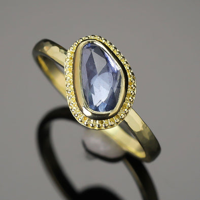Blue Sapphire 18K Treasure Gold Ring