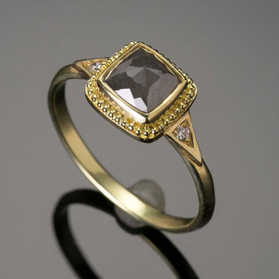 1.45ct. Grey Diamond Ring