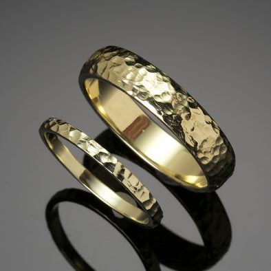 High Seas 18K Treasure Gold Bands