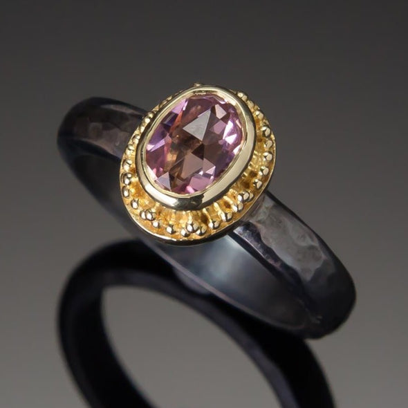 Morganite Marianas Ring