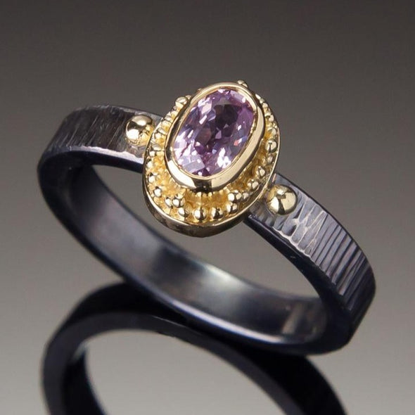 Pink Sapphire Marianas Ring