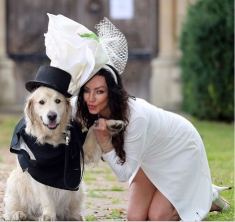 Dog a british marrying woman Woman who