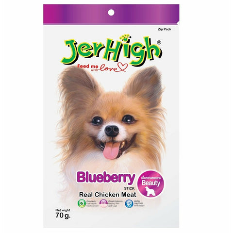 JerHigh Blueberry Dog Treat 70Gm