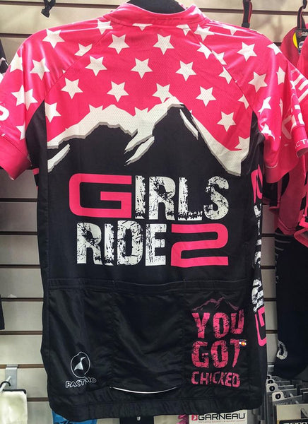 "Girls Ride 2 Jersey ""YOU GOT CHICKED"""