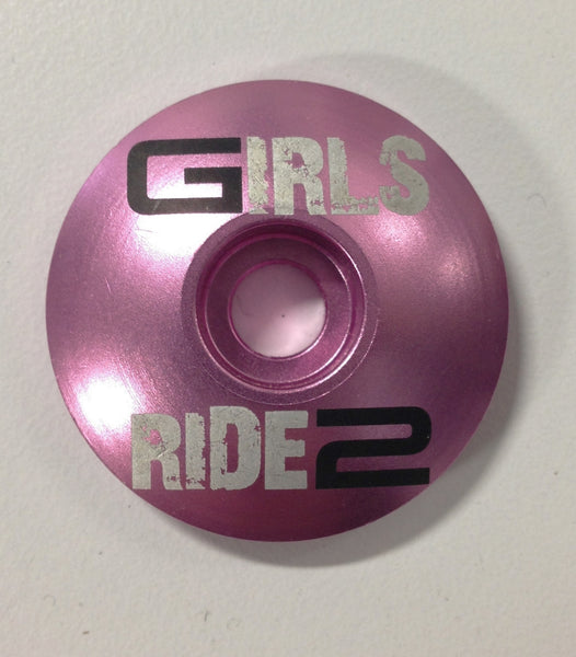 Girls Ride 2 Stem Top Cap