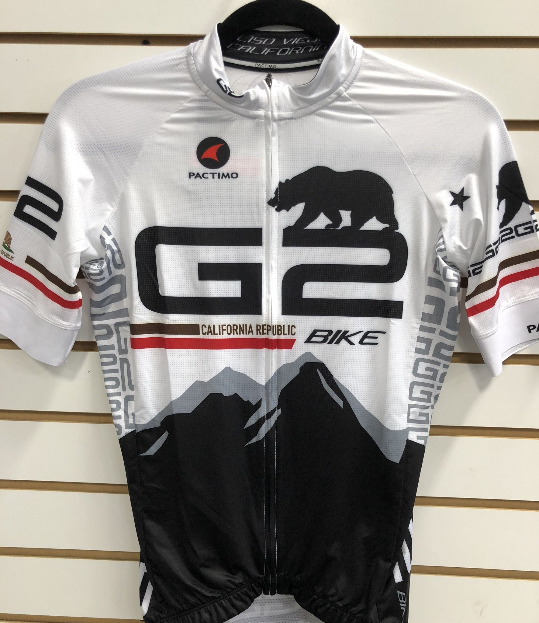 California Bear G2 Bike Jersey