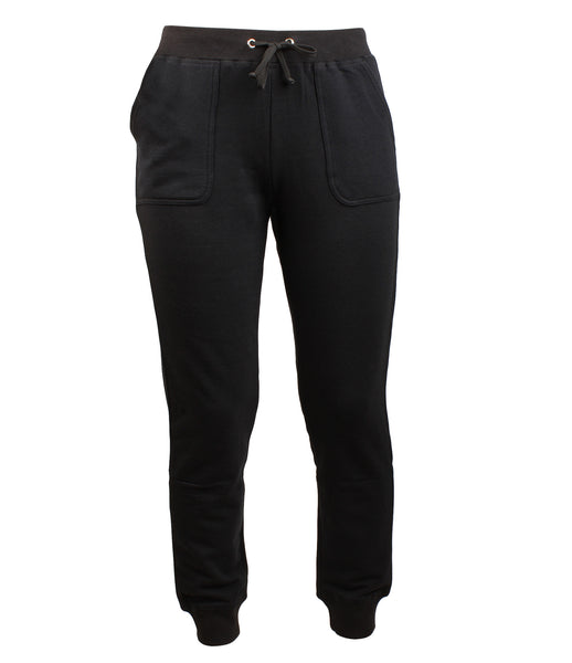 Bamboo Fleece Jogger Black