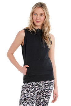 Echo Sleeveless Hoody