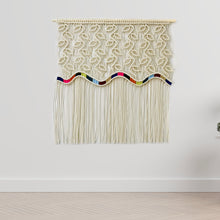 Load image into Gallery viewer, Extra Large Macrame Wall Hanging Tapestry - RAINBOW