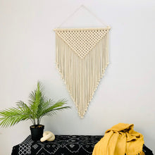 Load image into Gallery viewer, Large Elegant Macramé Wall Hanging - ADIRA