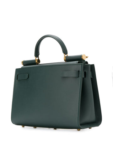 Small Green Calfskin Sicily 62 Bag