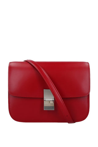 Medium Classic Box Bag in Smooth Leather