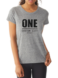 One Custom City Womens Tee