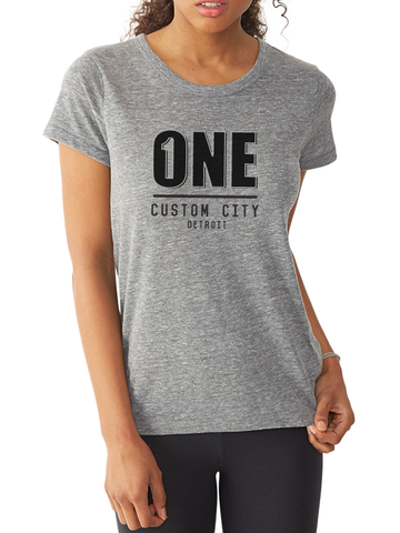 ONE CUSTOM CITY FITTED TEE