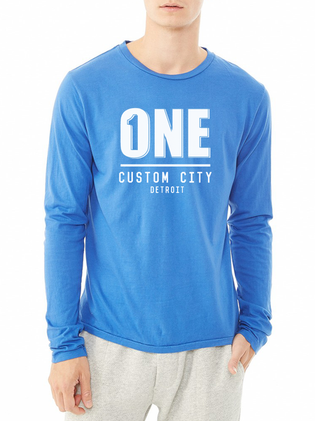 ONE CUSTOM CITY HERITAGE LONG SLEEVE TEE