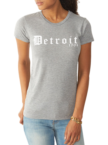 DETROIT 1701 FITTED TEE