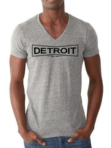 DETROIT WORKS V-NECK TEE