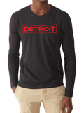 Black Long Sleeve Detroit Works Tee