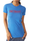 DETROIT WORKS FITTED TEE