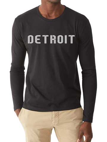 DETROIT LINE LONG-SLEEVE TEE