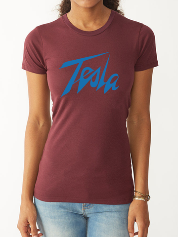 TESLA FITTED TEE