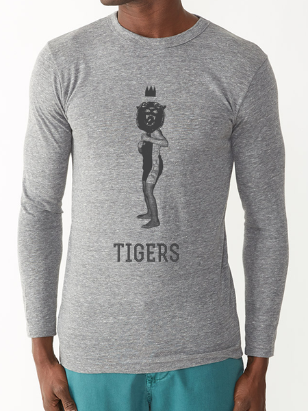 TIGERS LONG-SLEEVE TEE