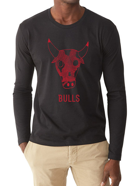 BULLS LONG SLEEVE TEE